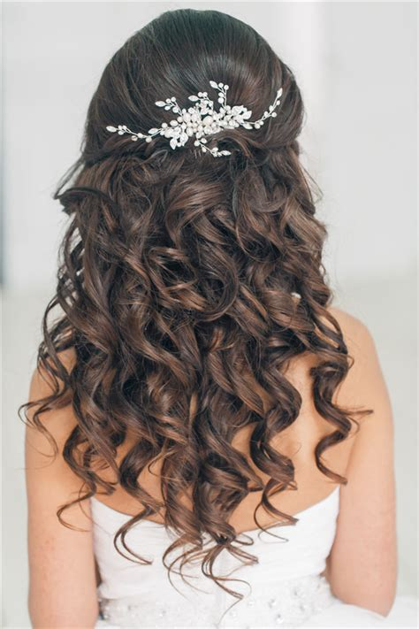 hairstyles for long hair and up top 20 down wedding hairstyles for long hair