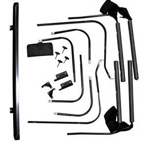 2008 jeep wrangler unlimited soft top hardware