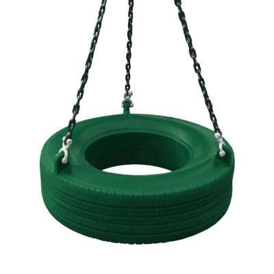 gorilla tire swing gorilla playsets 360 176 green turbo tire swing 04 0015 g g