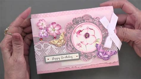 Wishes Written On Paper Make This - hunkydory lace in blooms luxury card kit plus more