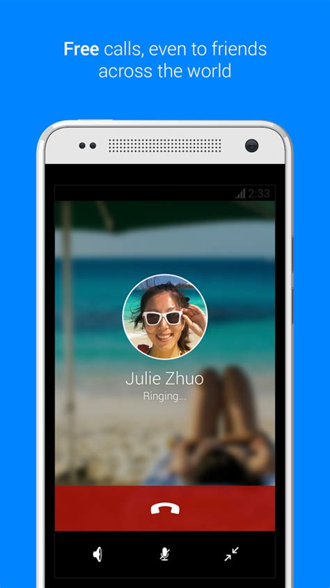 free wifi calling app android messenger adds free wifi calling in update other goodies