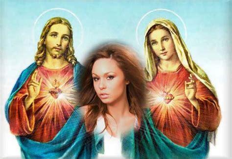 imagenes de jesus y la virgen maria juntos fotomontajes con la virgen mar 237 a y jes 250 s