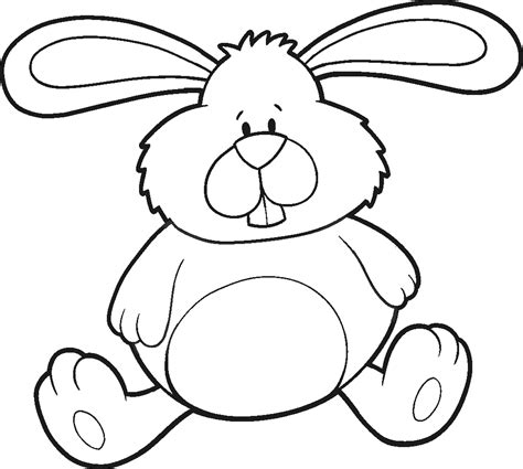 easter bunny coloring pages   Only Coloring Pages