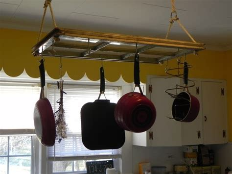 Pot Rack Window window pot rack craft ideas