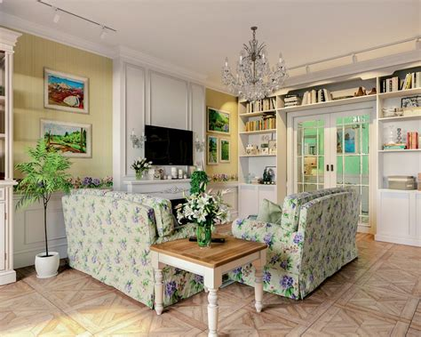 interior decorating provence style three room apartment in provence style for a family with 2