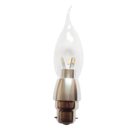 Dimmable Led Candle Bulb 6 Pack Omailighting B22 Led Chandelier Candle Bulbs