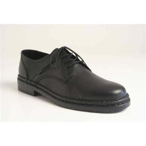 rieker klaus lightweight s lace up shoe in soft black