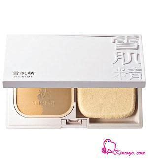 Foundation Kose Kose Sekkisei Supreme Powder Foundation Reviews Photo