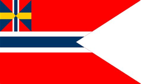 flags of the world not rectangular sweden and norway 1858 1905
