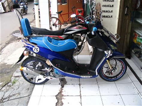 Lu Alis Mio Sporty Oracle Modification Concept Yamaha Mio Standard Retro