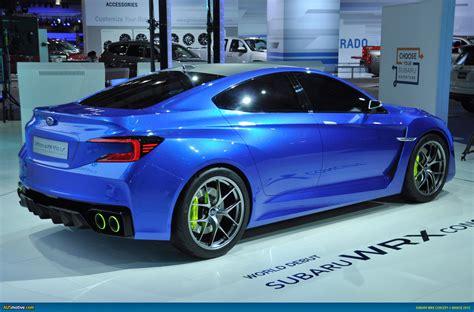 Subaru Wrx News by Ausmotive 187 New York 2013 Subaru Wrx Concept