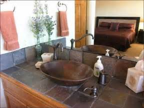 Tile Bathroom Countertop Ideas by Bathroom Tile Countertop