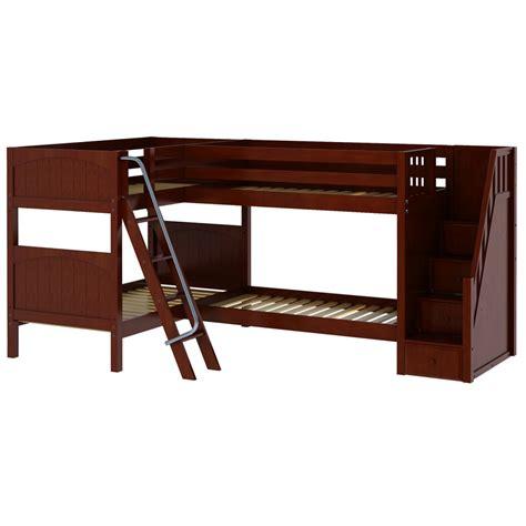 corner bunk bed quad corner bunk bed rosenberryrooms com