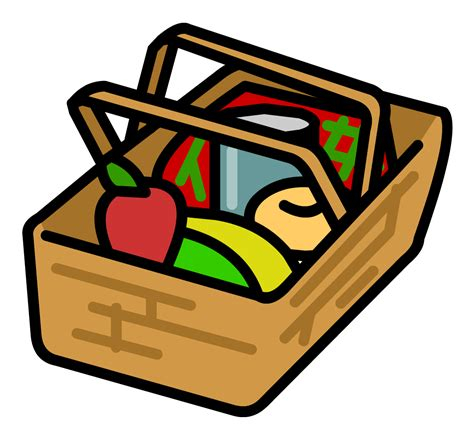 clip art best picnic basket clip art 16766 clipartion com