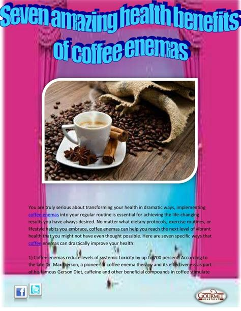 Coffee For Detox by 17 Best Images About Coffee On Colon