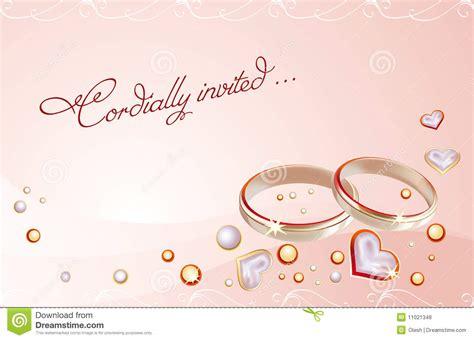 Bathtub Ring For Baby Wedding Card Royalty Free Stock Photos Image 11021348