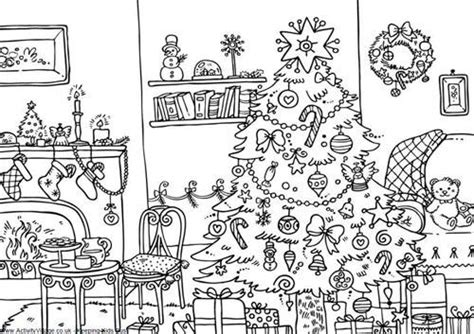 coloring pages christmas village free in village coloring pages