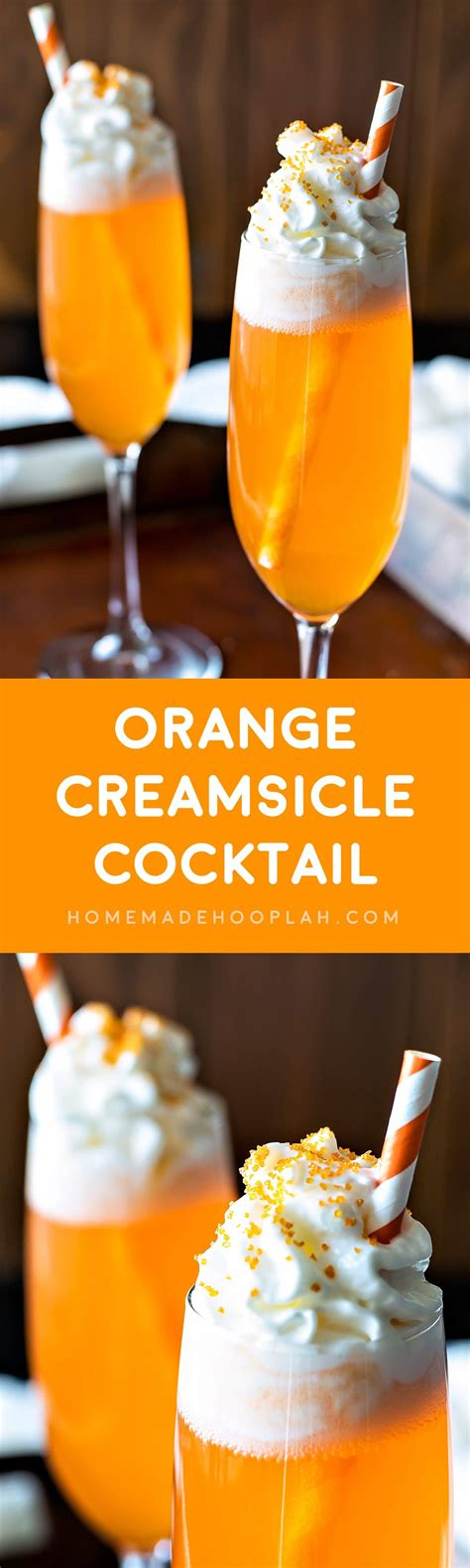orange martini recipe orange creamsicle cocktail homemade hooplah