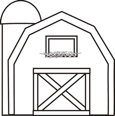animals in the barnyard coloring page barn house 17 best images about farm activities on pinterest