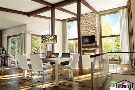 Prefabricated Kitchen Island by Designer Zen Amp Contemporary Chalet Amp Waterfront Homes