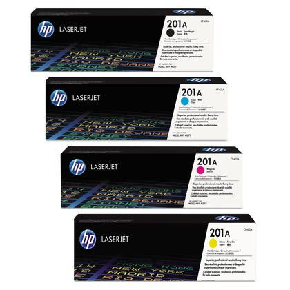 Toner 201 A Color Original hp 201a original toner cartridge combo bk c m y