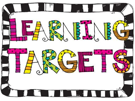 free printable learning targets fifth grade freebies blog hop wild about fifth grade