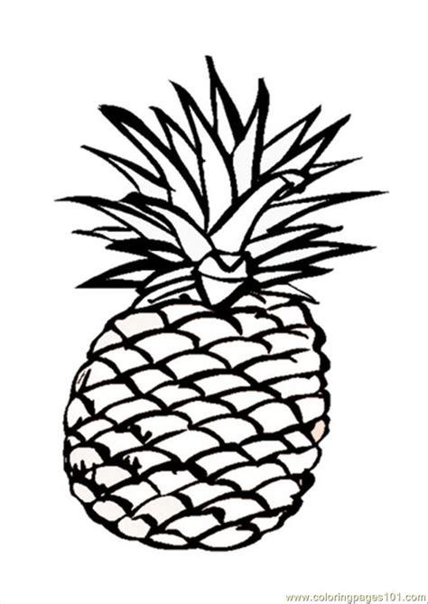 pineapple coloring pages pineapple coloring page az coloring pages