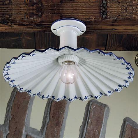 Illuminazione Per Taverna by Plafoniera Ladario Soffitto Ceramica Illuminazione