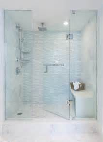 waterfall edge shower seat design ideas