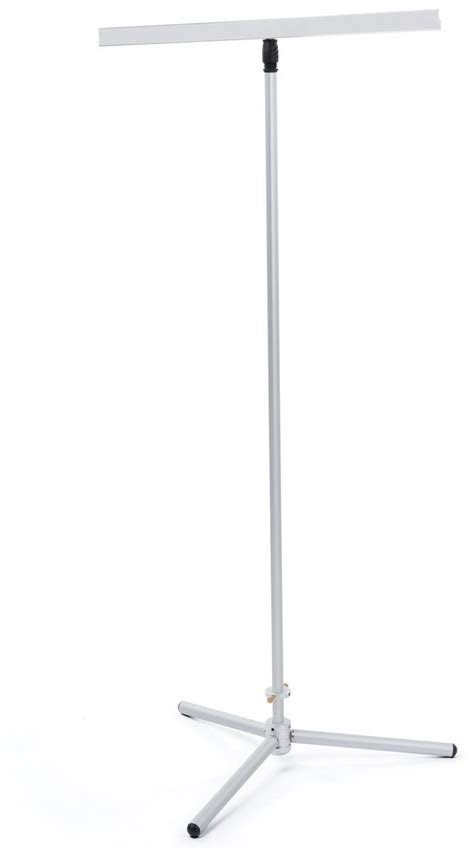 adjustable pole banner stand banner not included