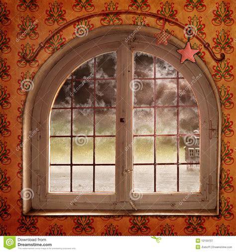 christmas window royalty  stock photography image