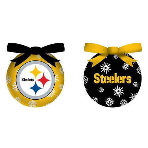 pittsburgh steelers christmas ornaments pittsburgh