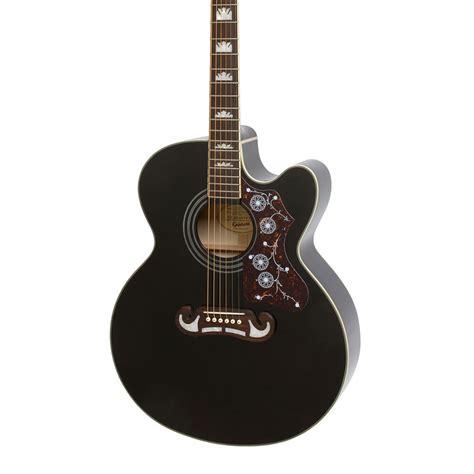 Bridge Gitar Epiphone epiphone ej 200sce bk 171 acoustic guitar