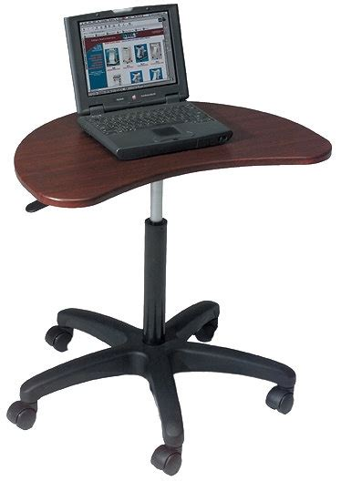 Balt Adjustable Computer Desk by Balt Adjustable Laptop Desk In Mahogany Black 48752 47262