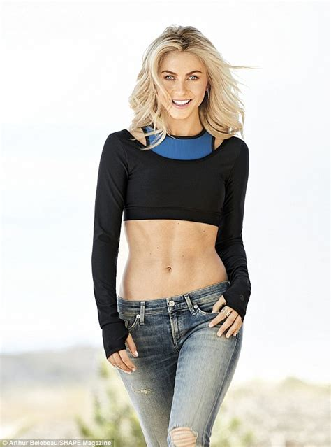 what shape face does julianna hough have julianne hough talks fitness tips on the cover of shape