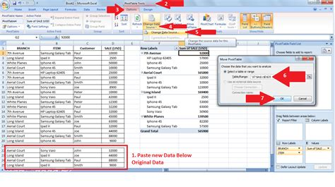 How To Update A Pivot Table by Pivot Tables