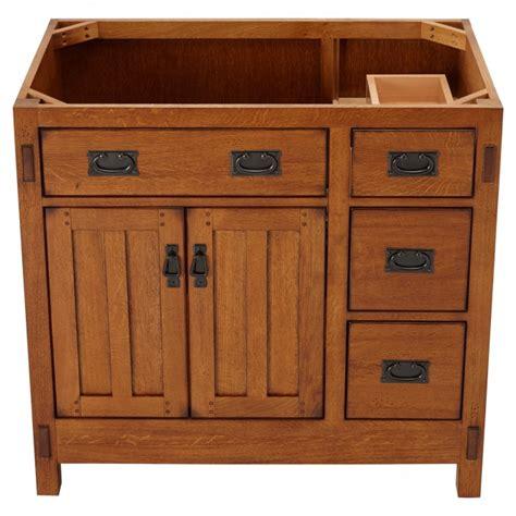 craftsman vanity 36 quot american craftsman vanity for rectangular undermount