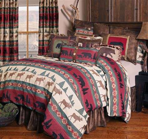 lodge bedding sets takoma by carstens lodge bedding beddingsuperstore com