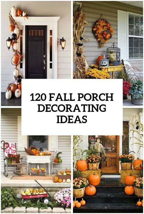front porch decorating ideas for fall fall decor front 1000 halloween decorating ideas on pinterest halloween