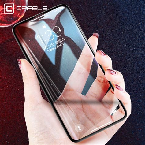 Big W Iphone Xr Screen Protector by Cafele 3d 0 2mm Screen Protector For Iphone X Xr Xs Max Soft Edge Cover Tempered Glass For