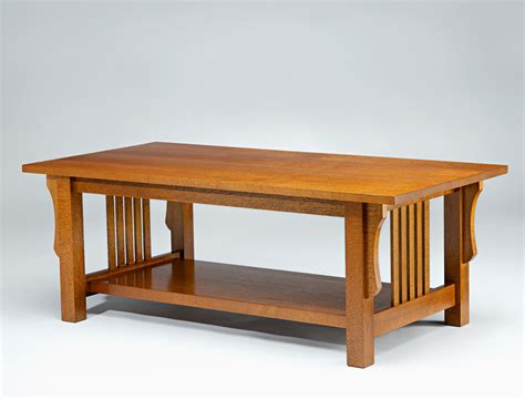 Arts And Crafts Coffee Table Silky Oak Lacewood Furniture Arts And Crafts Coffee Table