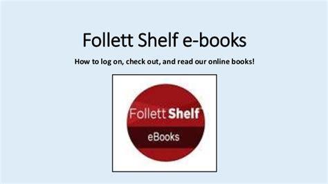 follett shelf e books