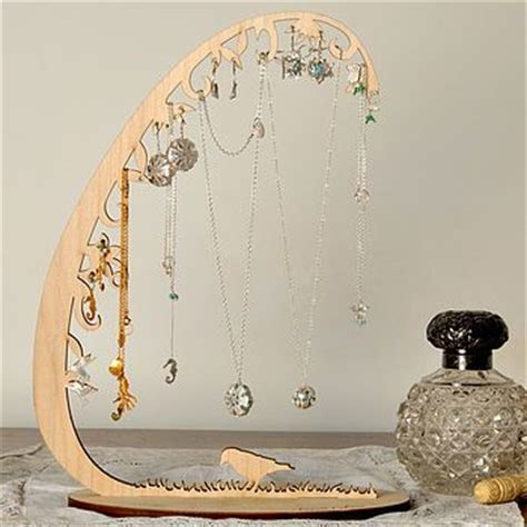 Best 25  Jewellery stand ideas on Pinterest   Wooden jewelry display, Diy necklace display and