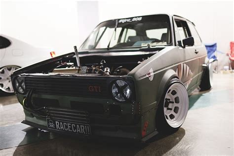 volkswagen rabbit stanced picture tuning volkswagen golf mk1 gtl rabbit stance front