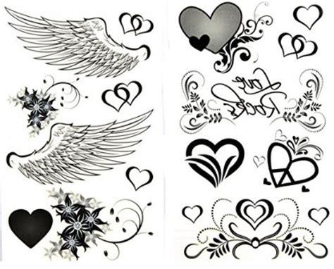 tattoo ali immagini tatuaggi temporanei ali e cuori grandi sconti tatuaggi