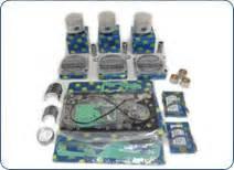 kubota engine overhaul kit  mm oversize pistons
