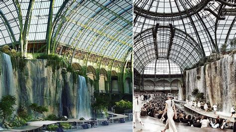 Grang Palais by Chanel Brings The Rainforest To The Grand Palais In