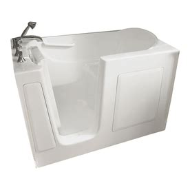 Lowes Bathroom Tubs Shop American Standard 60 In L X 30 In W X 37 In H White