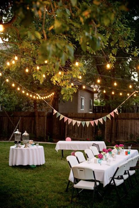 25 best ideas about backyard birthday on