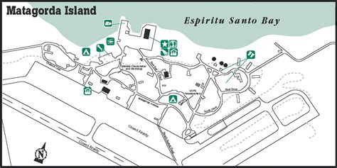 matagorda texas map matagorda island state park hq map matagorda island mappery